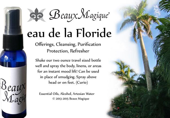eau de la Floride ~ Spiritual Cologne