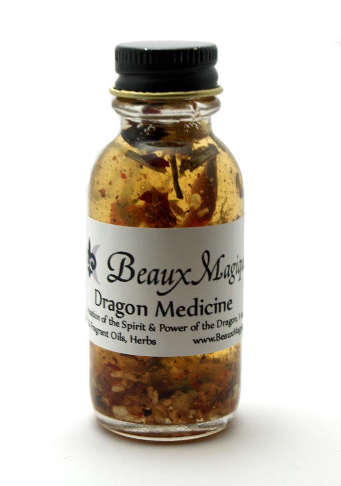 Dragon Medicine ~ Altar Oil, Conjure Oil, Ritual oil